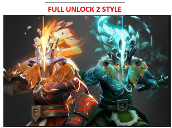 Exalted Bladeform Legacy Lv 2 (Arcana Juggernaut)