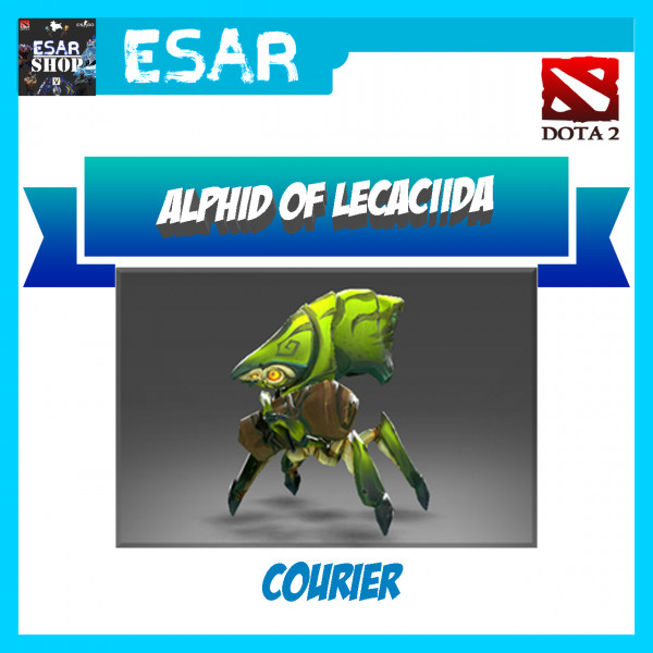 Alphid of Lecaciida (Courier)