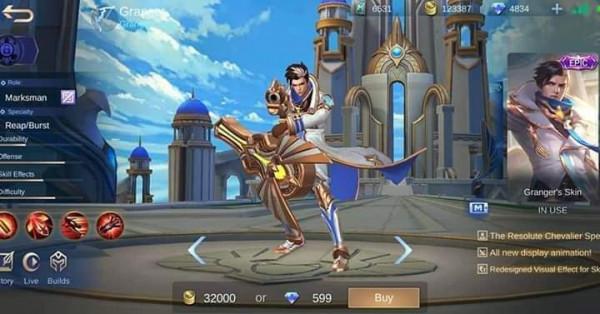 Lightborn - Overrider ( Epic Skin Granger )