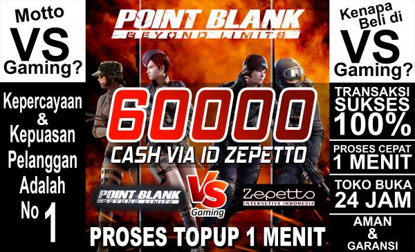 60.000 PB Cash