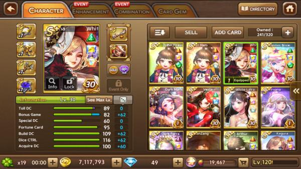White Morgana+Vesta+White Laira+DarkTerra+Maia