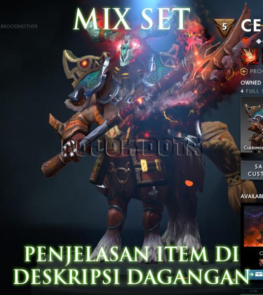 CENTAUR WARRUNER MIX SET #1