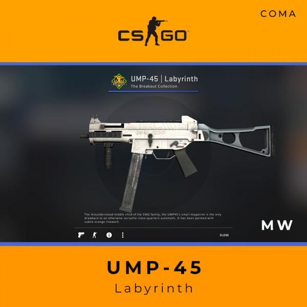 UMP-45   Labyrinth (Minimal Wear)