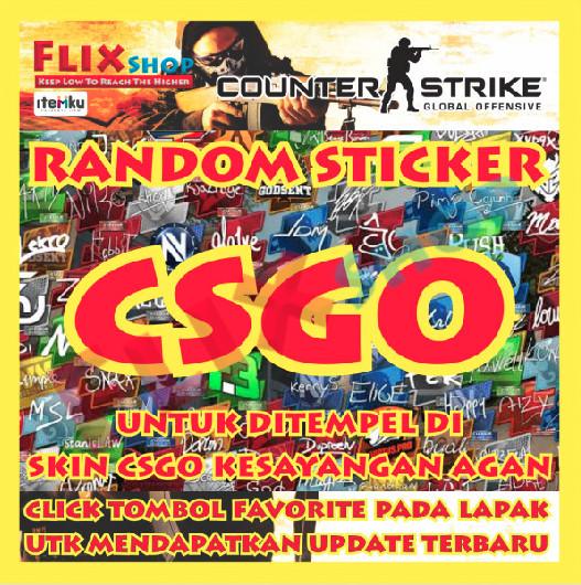 Random Sticker CSGO