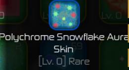 Polychrome Snowflake Aura Skin ( Swordburst 2 )