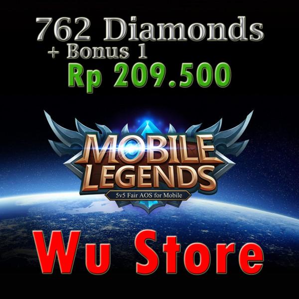 762 Diamonds