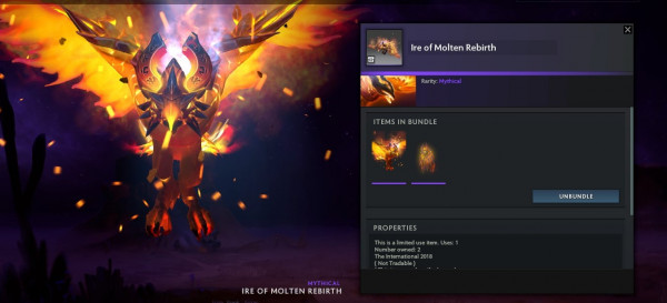 Ire of Molten Rebirth (Phoenix Set)
