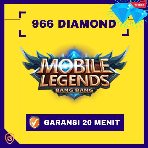 Top Up 966 Diamonds