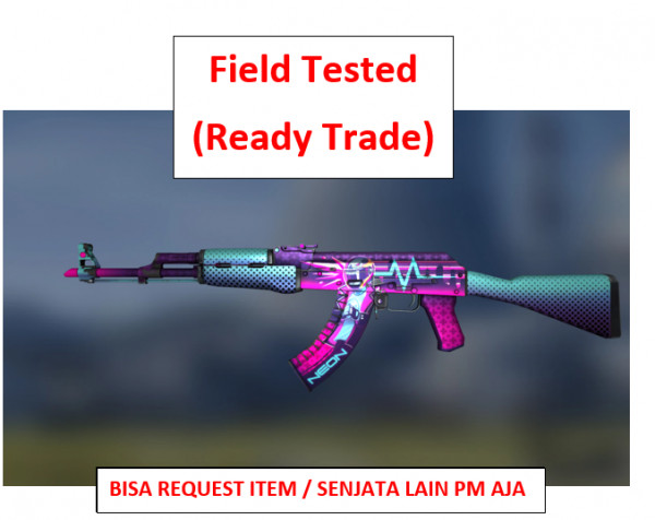 AK-47 | Neon Rider FT | Ready Trade