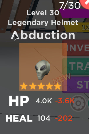 Legendary Helm Abducation - Zombie Striker