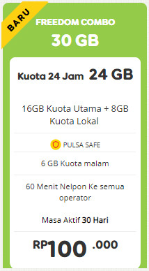 Freedom 30GB 30 Hari