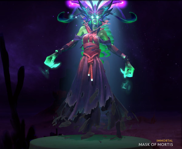 Mask of Mortis (Immortal TI9 Death Prophet)