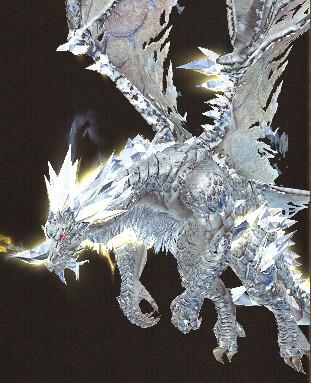Glacier Monarch Dragon