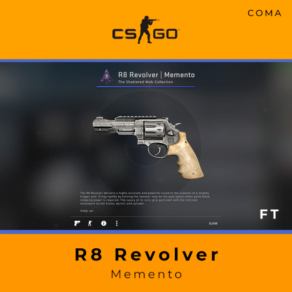 R8 Revolver | Memento (Field-Tested)
