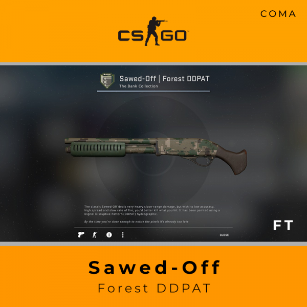 Sawed-Off | Forest DDPAT (Field-Tested)
