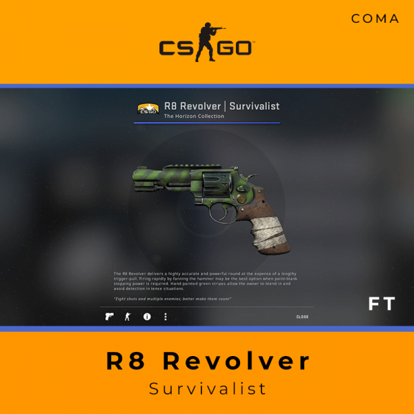 R8 Revolver | Survivalist (Field-Tested)