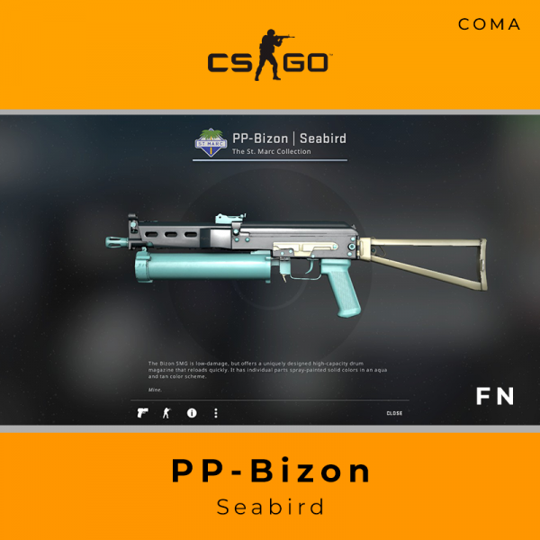 PP-Bizon | Seabird (Factory New)