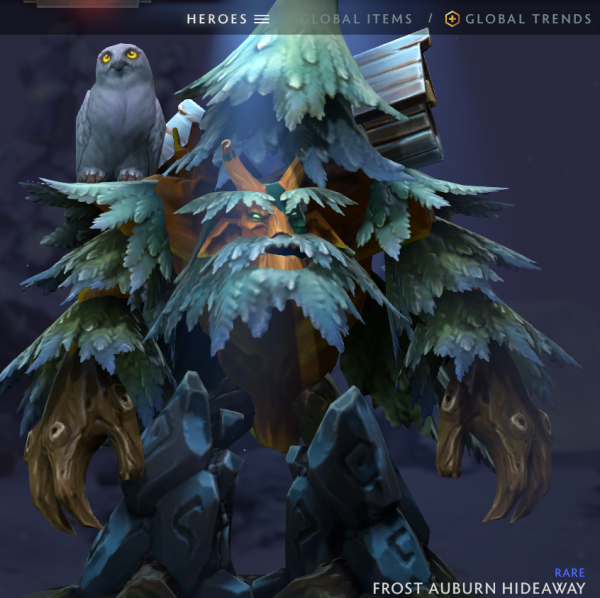Frost Auburn Hideaway (Treant Protector Set)