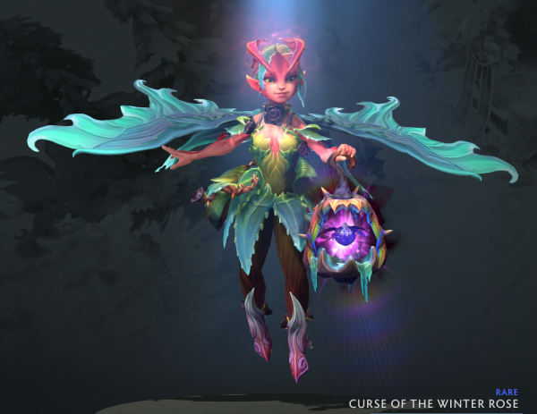 Curse of the Winter Rose (Dark Willow set)