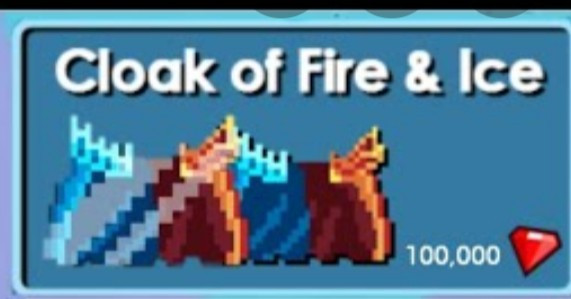 Cloak of fire and ice