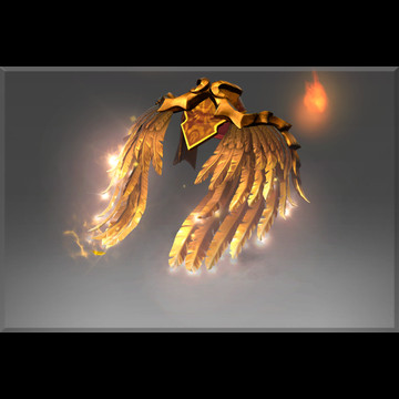 Golden Wyrmwrought Flare (Immortal TI7 Lina)