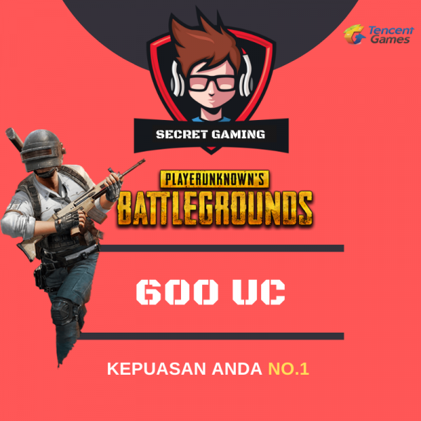 Top Up 600 UC