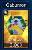1000 Gabumon Seal