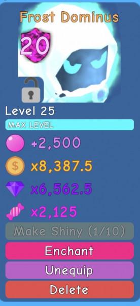 Dominus Frost - BubbleGum Simulator