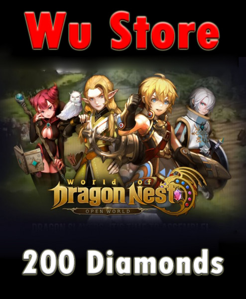 200 Blue Diamonds