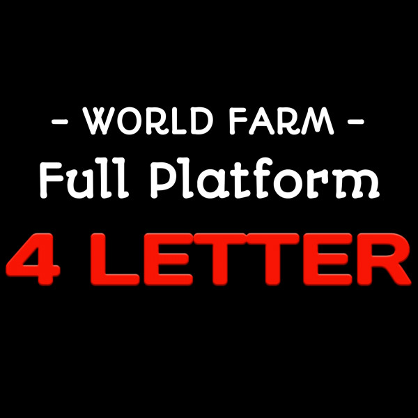 World 4 Letter + Farm