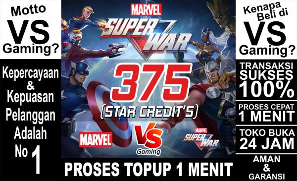 375 Star Credits