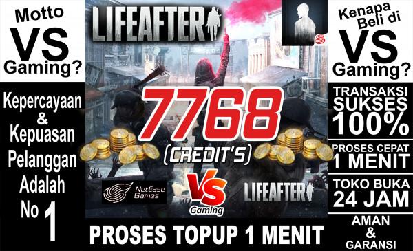 7768 Credits