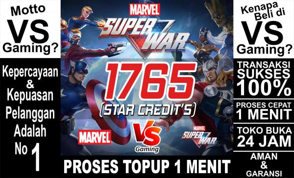 1765 Star Credits