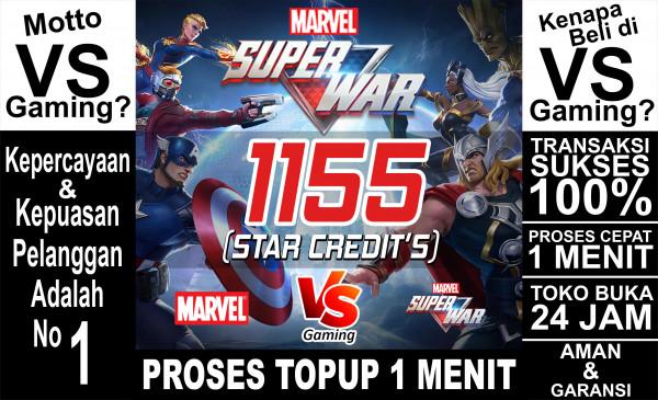 1155 Star Credits