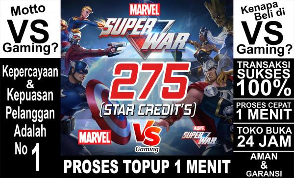 275 Star Credits