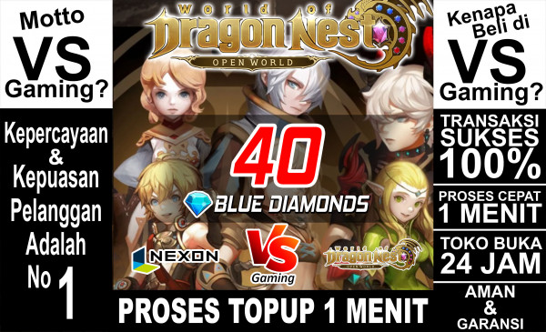40 Blue Diamonds