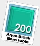 Aqua Block ( 200 pcs )
