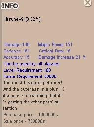 Kitsune +9