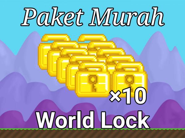 Paket 10 World Lock