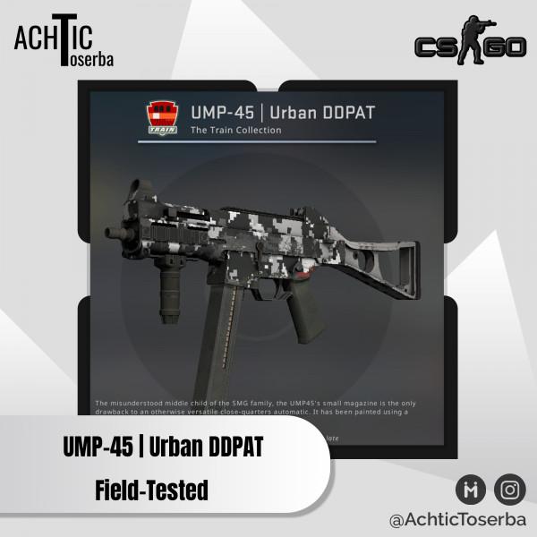 UMP-45   Urban DDPAT (Consumer Grade SMG)