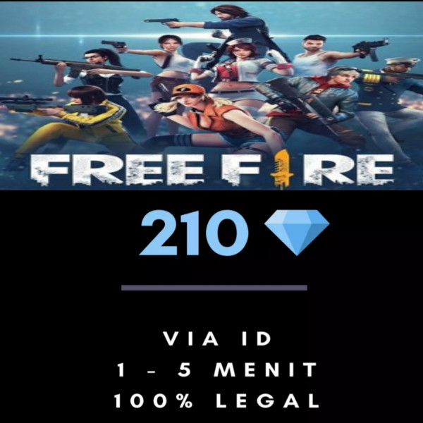 Freefire 210 DM