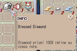 Blessed diamond untrade