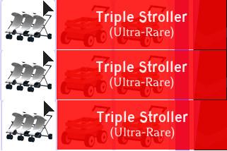 1 Triple Stroller (Adopt Me)