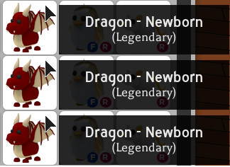 1 Pet Dragon (Adopt Me)