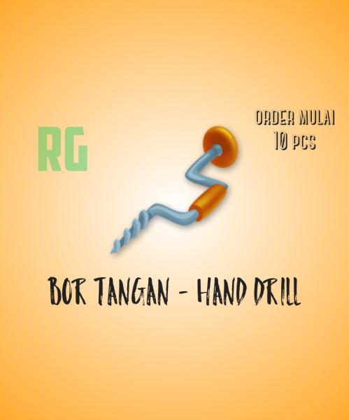 Bor Tangan - Hand Drill