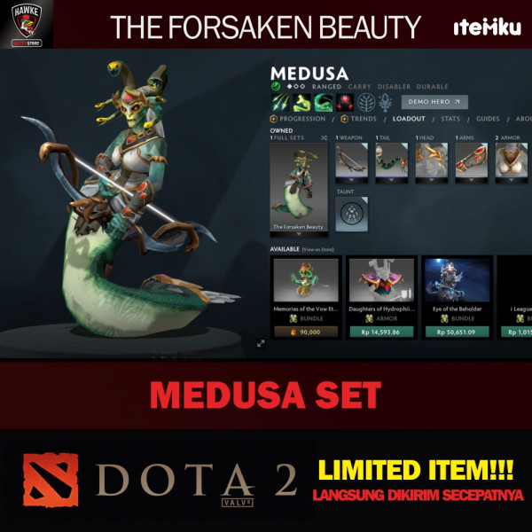 Forsaken Beauty (Medusa Set)
