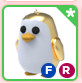 Golden Penguin(Can Fly&Ride)Adopt me