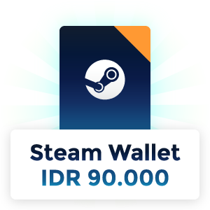 Pemenang Steam Wallet IDR 90.000