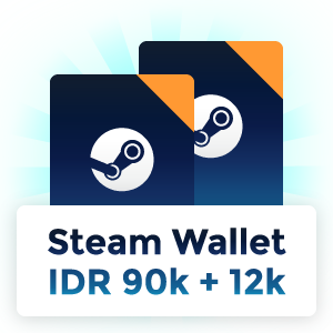 Pemenang Steam Wallet IDR 102.000