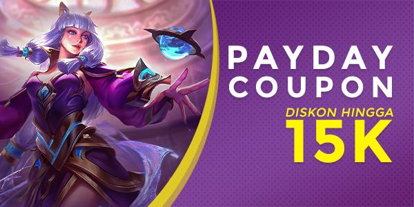 April Payday Coupon: Diskon Rp15K SEMUA Game di itemku!
